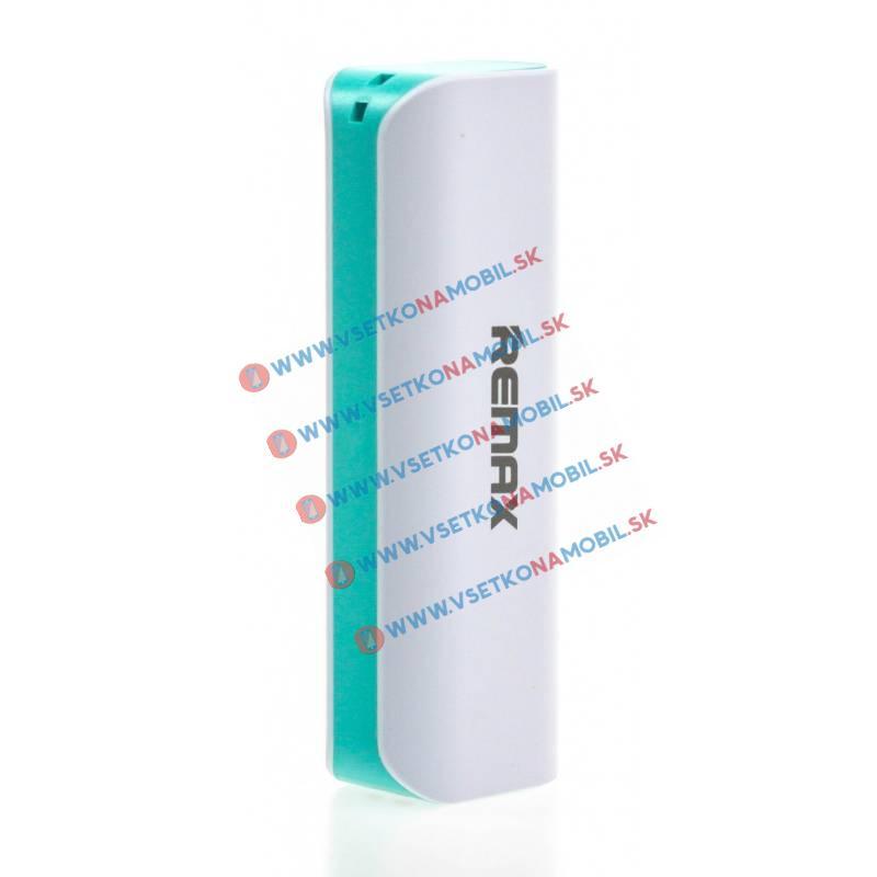 REMAX LIPSTICK Externí Nabíječka 2600 mAh mentolová