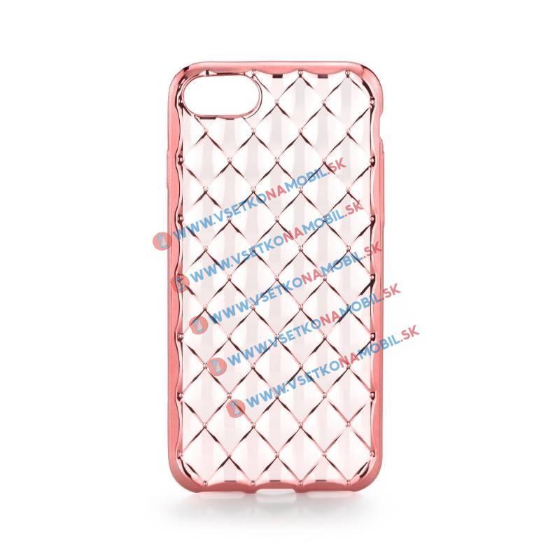FORCELL Silikónový obal iPhone 6 / 6S ružový LUXURY