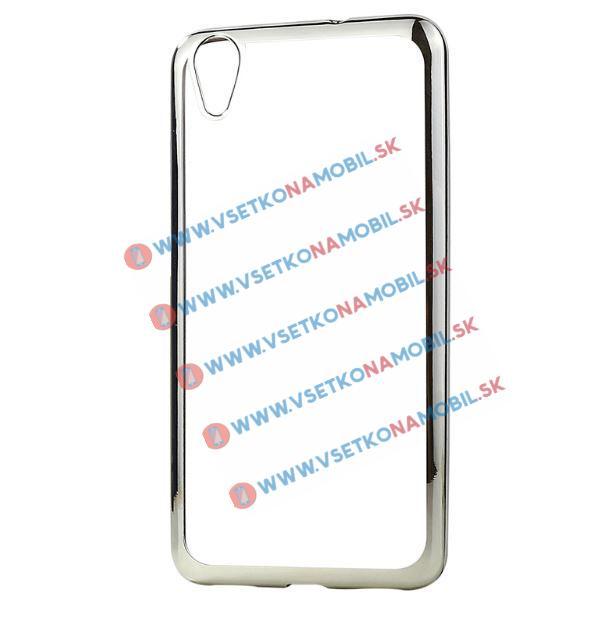 FORCELL METALLIC silikonový obal Sony Xperia X stříbrný