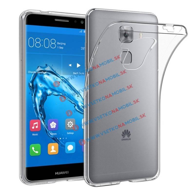 Silikónový priehľadný obal Huawei Nova Plus priehľadný