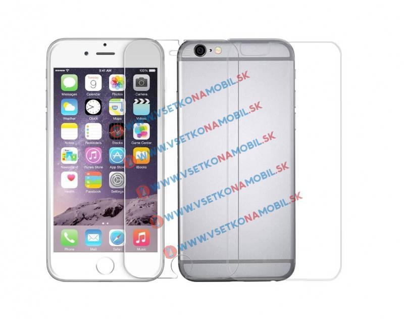 FORCELL Tvrzené sklo Apple iPhone 6 / 6S (PŘEDNÍ + ZADNÍ)