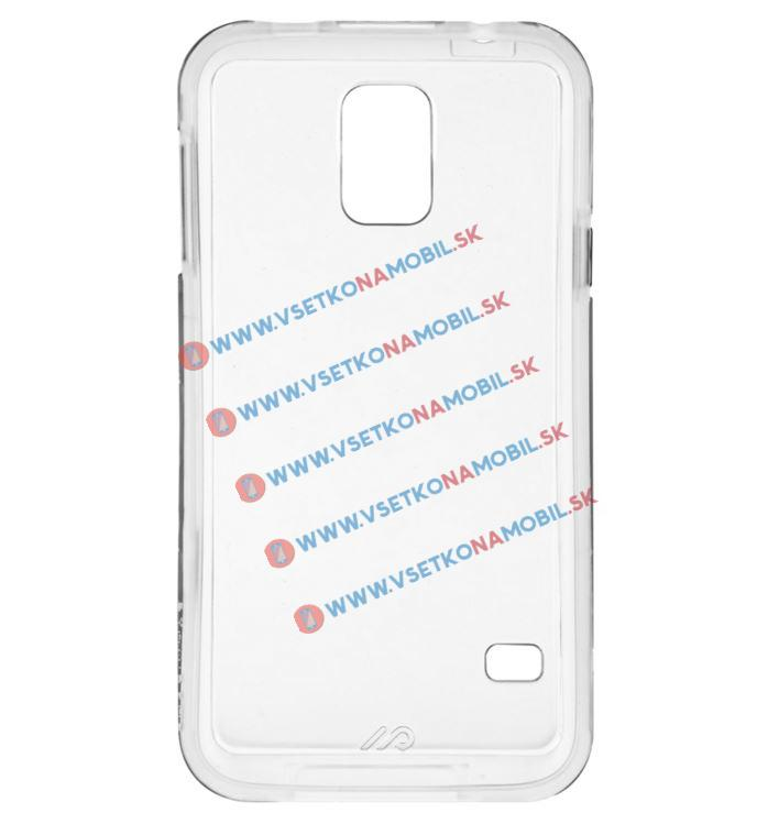 Plastový kryt Samsung Galaxy S5 průhledný