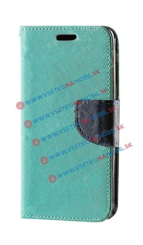 FANCY Knižkové púzdro Sony Xperia M4 Aqua zelené