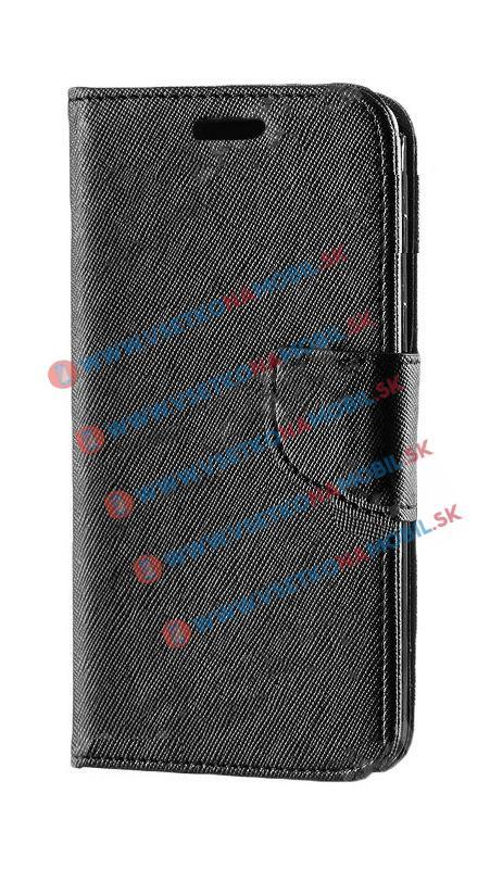 FANCY Knižkové púzdro Sony Xperia M4 Aqua čierne
