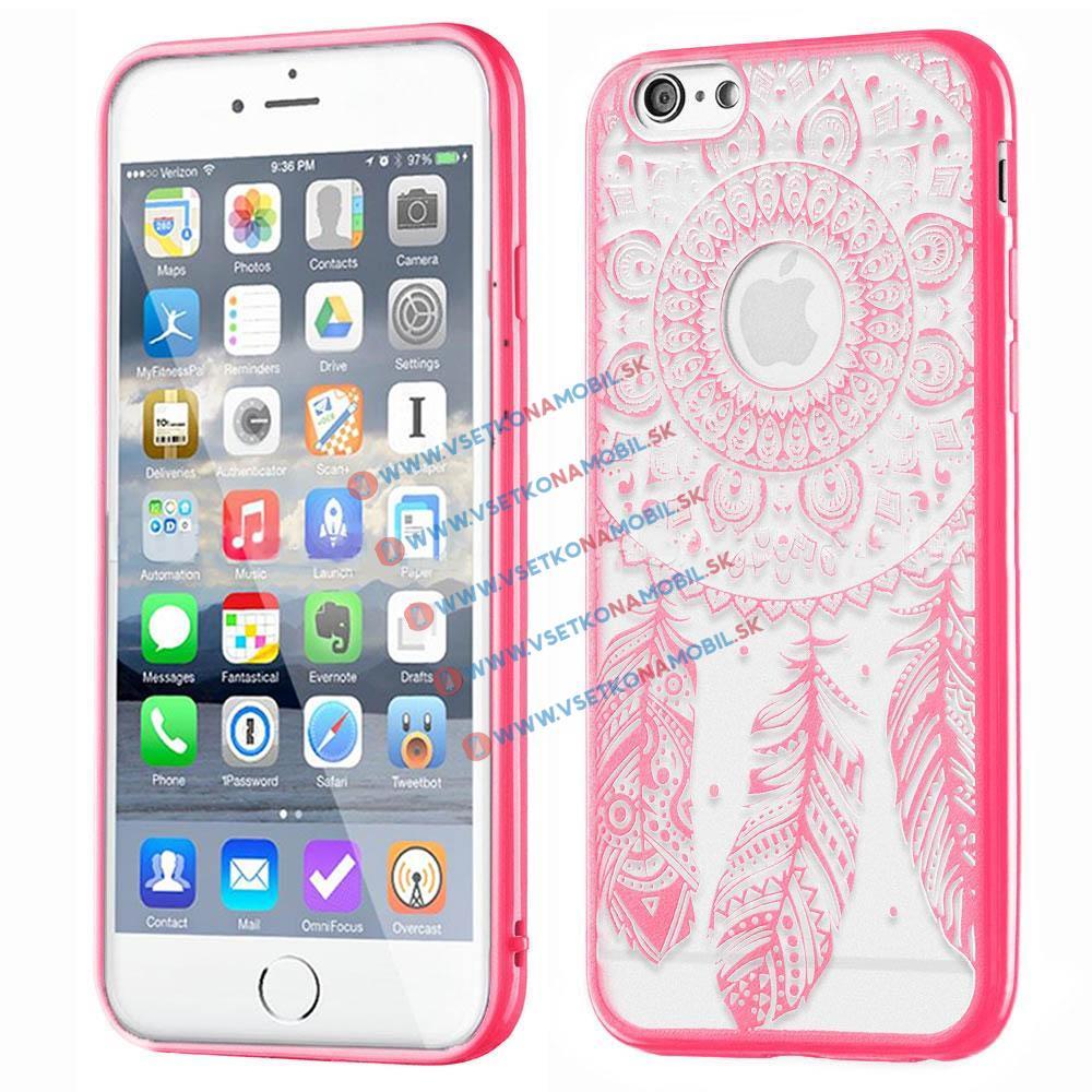 FORCELL HENNA DREAM silikónový obal Apple iPhone 6 / 6S ružový