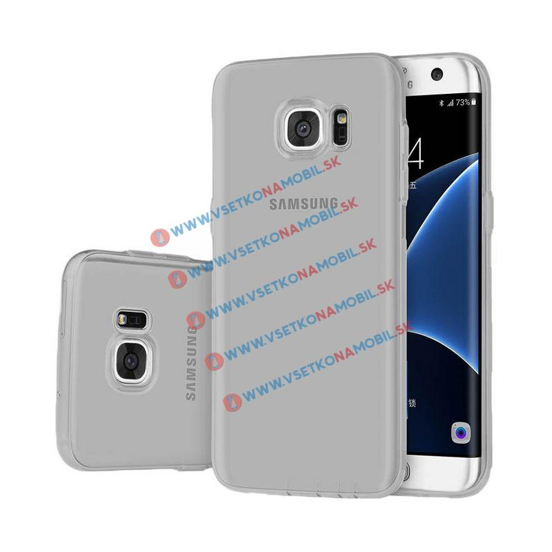 FORCELL Silikónový obal Samsung Galaxy S7 edge šedý