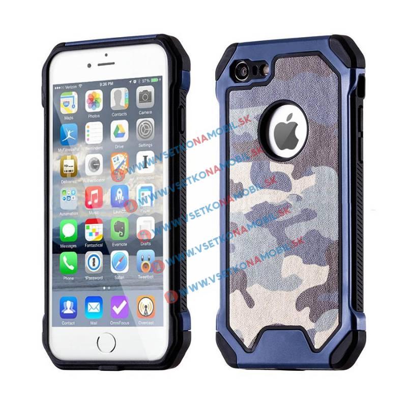 FORCELL ARMY Ochranné púzdro Apple iPhone 6 / 6S modré