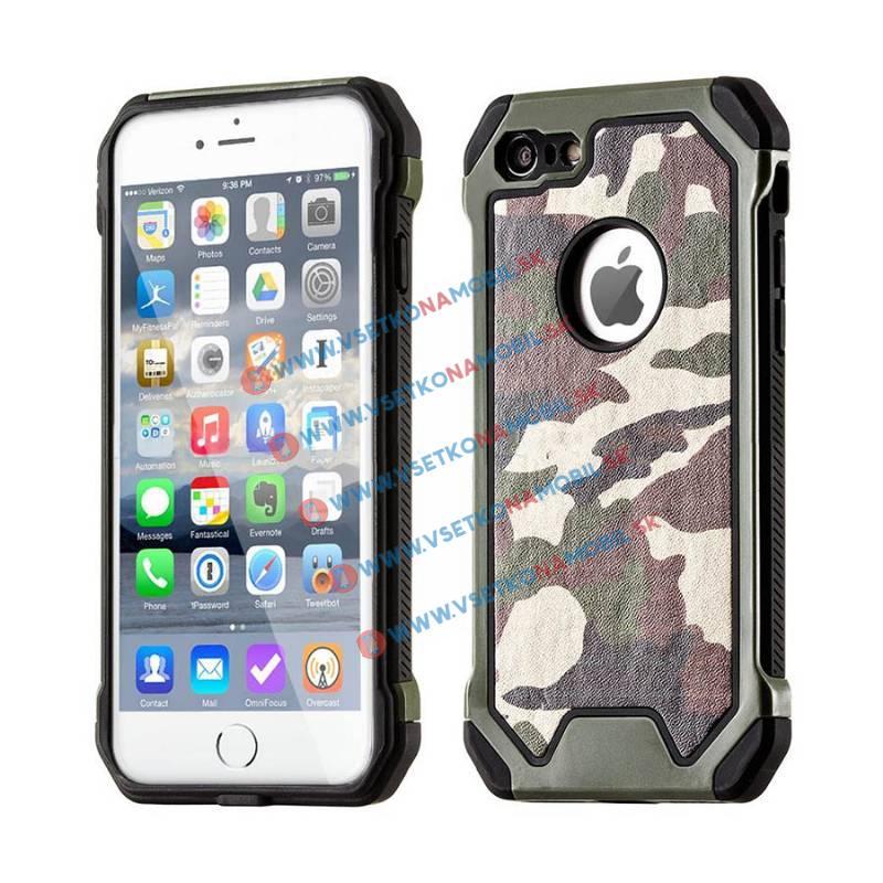 FORCELL ARMY Ochranné pouzdro Apple iPhone 5 / 5S / SE zelené