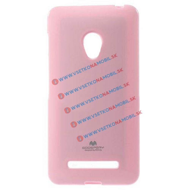 FORCELL Silikonový obal Asus Zenfone 4 růžový