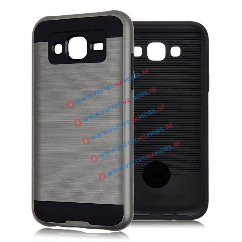 PANZER Ochranný kryt Samsung Galaxy J5 2015 (J500) strieborný