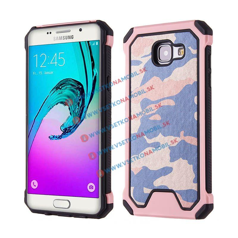 FORCELL ARMY Ochranné pouzdro Samsung Galaxy A3 2016 růžové