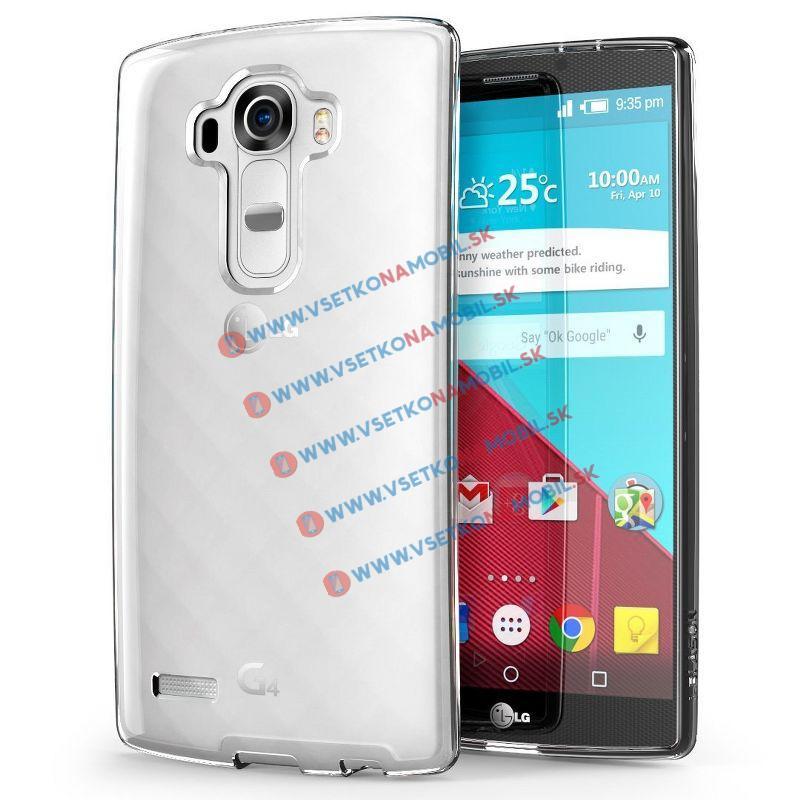 FORCELL Silikonový obal LG G4 průhledný