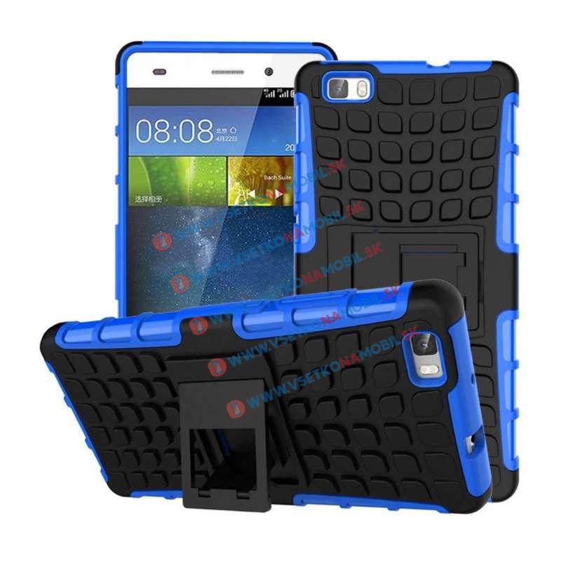 STAND Odolný obal Huawei P8 lite modrý