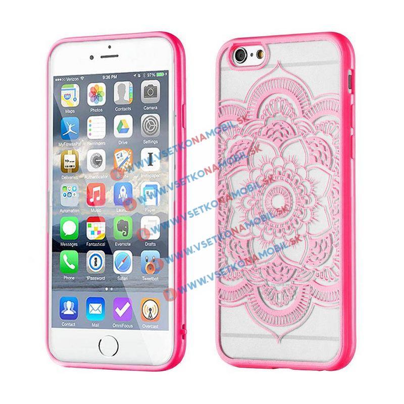 FORCELL HENNA LOTUS silikónový obal Apple iPhone 6 / 6S ružový