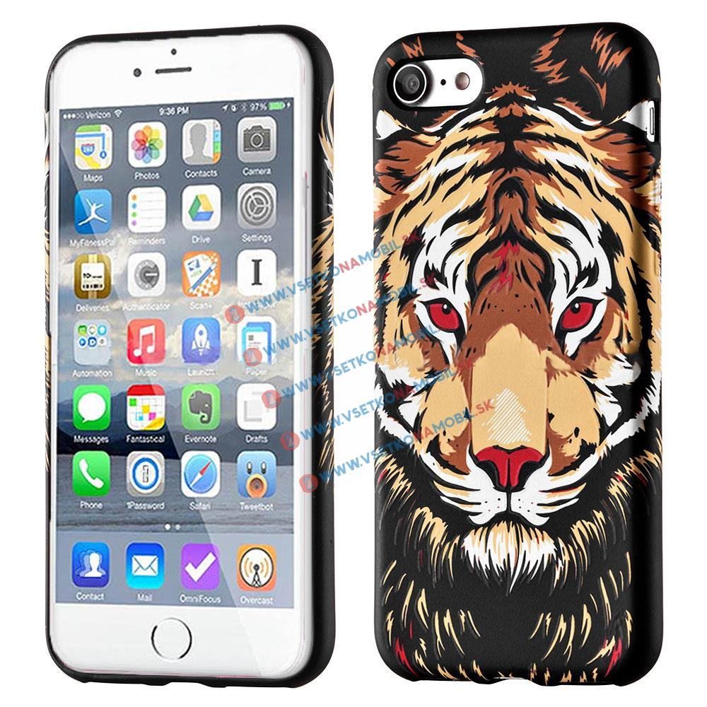 FORCELL WILD svietiaci obal Apple iPhone 7 / iPhone 8 TIGER