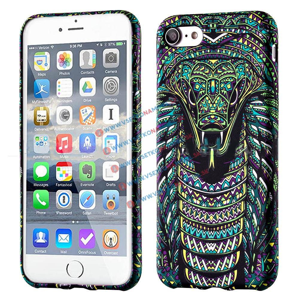 FORCELL WILD svietiaci obal Apple iPhone 7 / iPhone 8 SNAKE