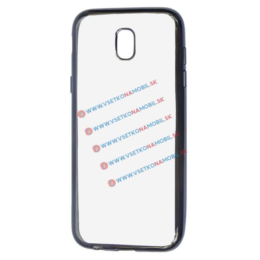 FORCELL METALLIC Silikónový obal Samsung Galaxy J3 2017 (J330) čierny