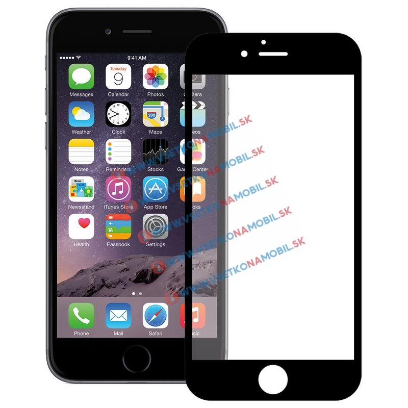 FORCELL 3D Tvrzené sklo Apple iPhone 6 Plus / 6S Plus černé