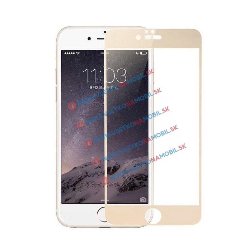 FORCELL 3D Tvrzené sklo Apple iPhone 7 / iPhone 8 zlaté