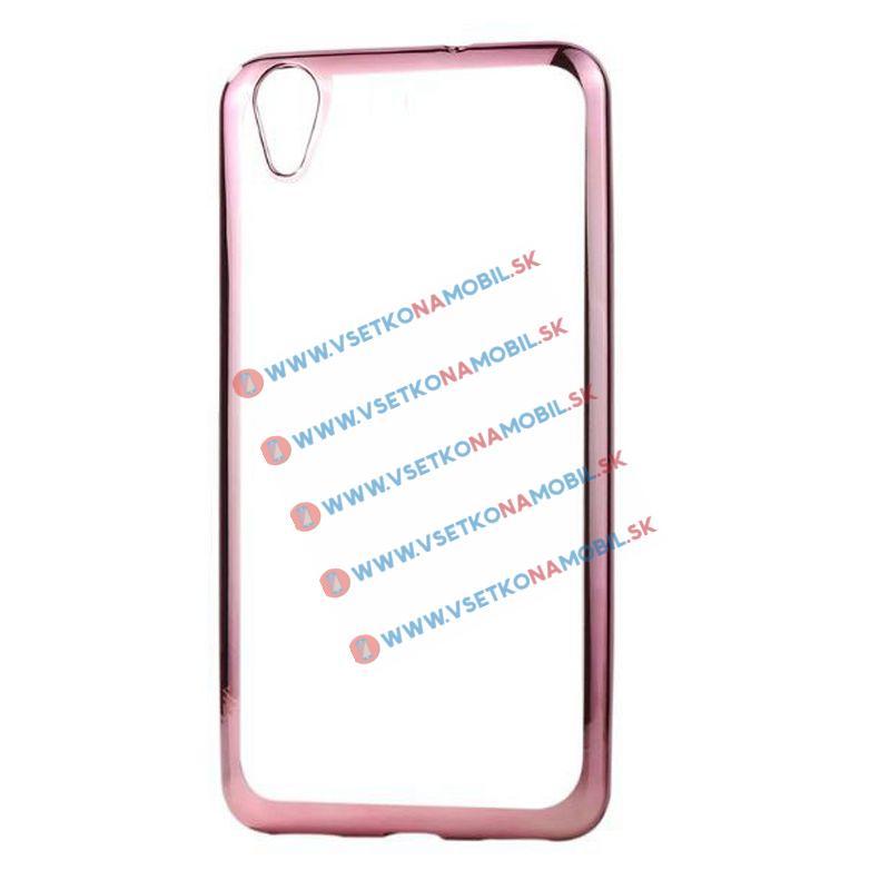 FORCELL METALLIC TPU Obal Sony Xperia M4 Aqua růžový (strong)