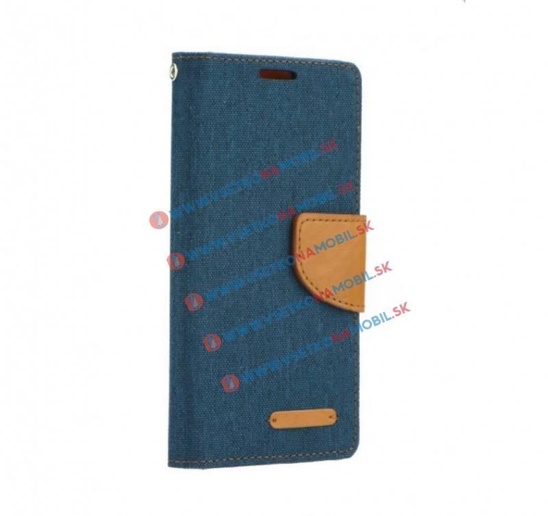 CANVAS peňaženkové púzdro Lenovo Vibe C2 modré