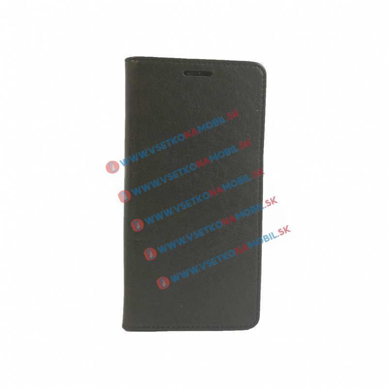 LTHR peňaženkové púzdro Lenovo Vibe C2 čierne