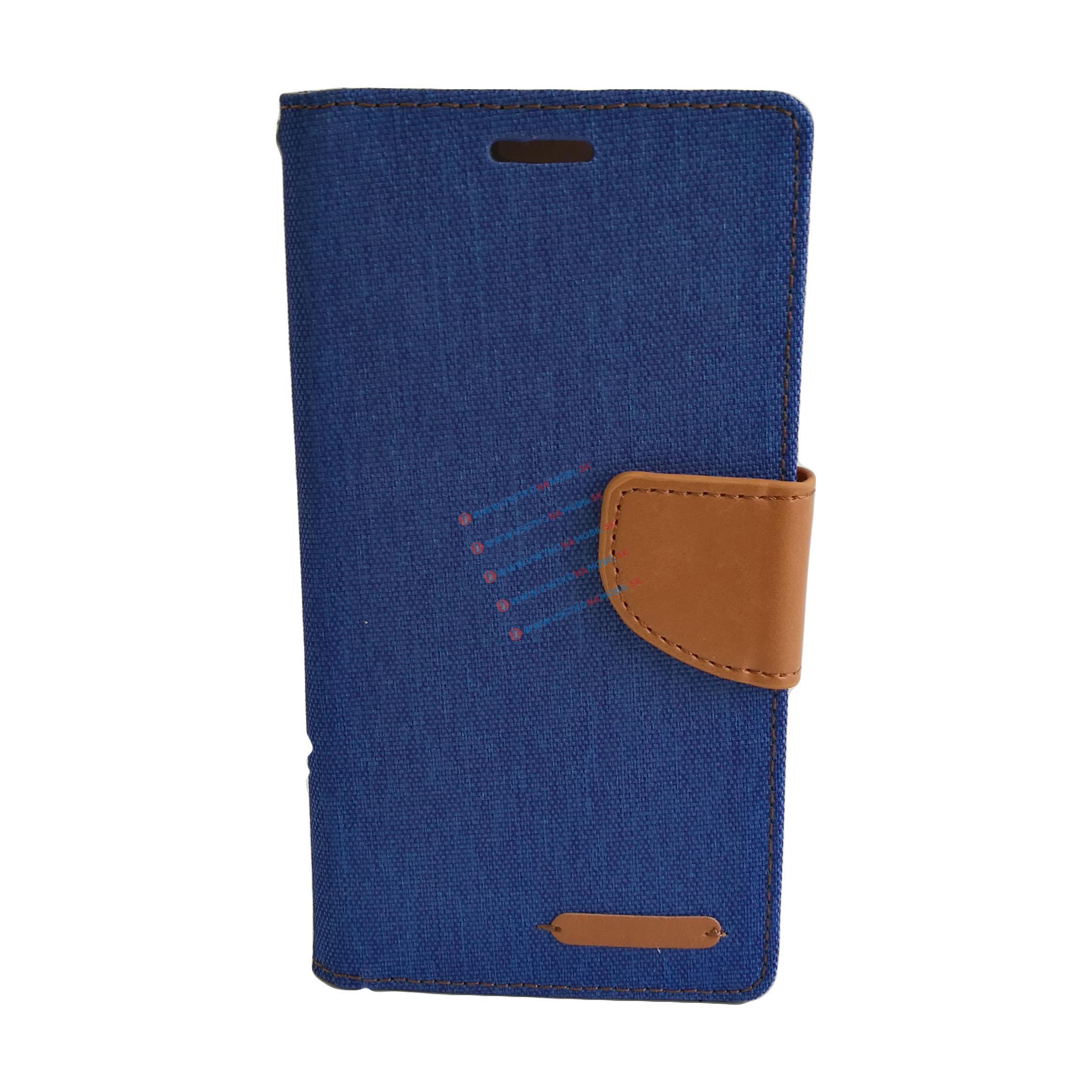 CANVAS peňaženkové púzdro Lenovo Vibe S1 modré