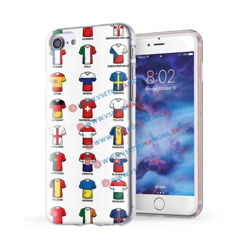 FORCELL ART Silikónový obal Apple iPhone 7 / iPhone 8 Football