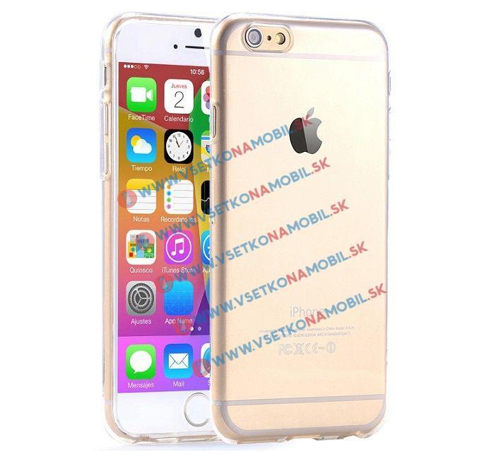 FORCELL Silikónový obal iPhone 6 / 6S priehľadný