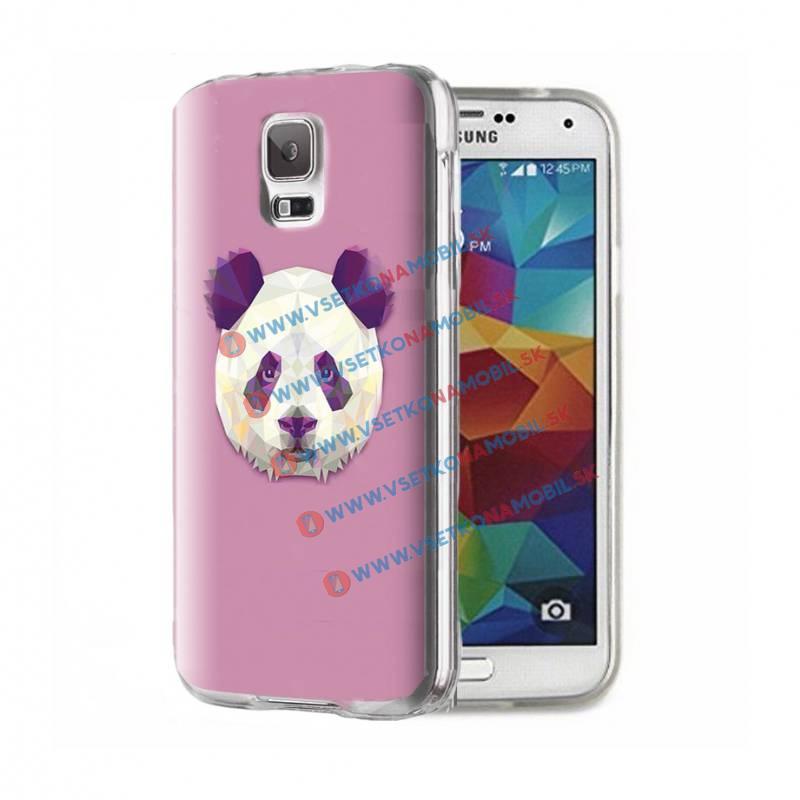 FORCELL ART TPU Kryt Samsung Galaxy S5 PANDA