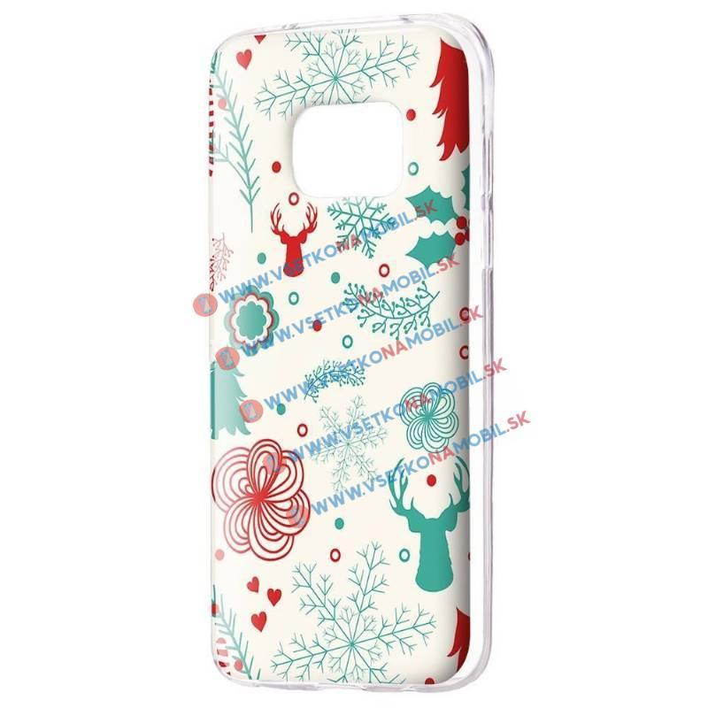 FORCELL ART Silikónový obal Samsung Galaxy S7 Edge DEER