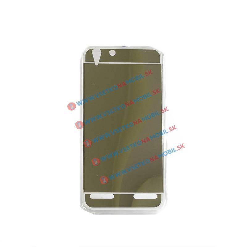 FORCELL Zrkadlový silikónový obal Lenovo Vibe K5 zlatý