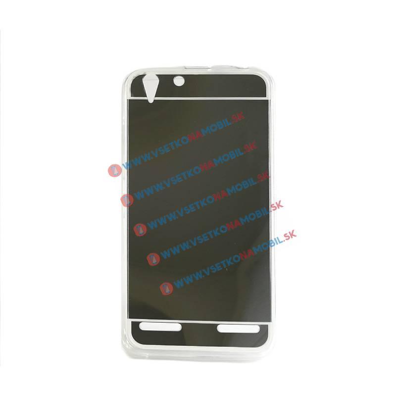 FORCELL Zrkadlový silikónový obal Lenovo Vibe K5 čierny