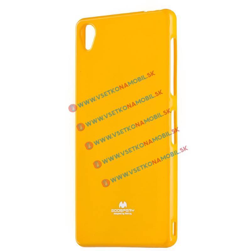 MERCURY JELLY TPU obal Sony Xperia Z3 oranžový