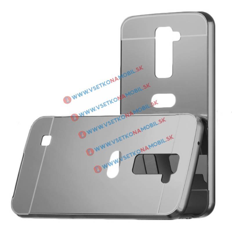 Ochranný zrcadlový obal LG K10 černý