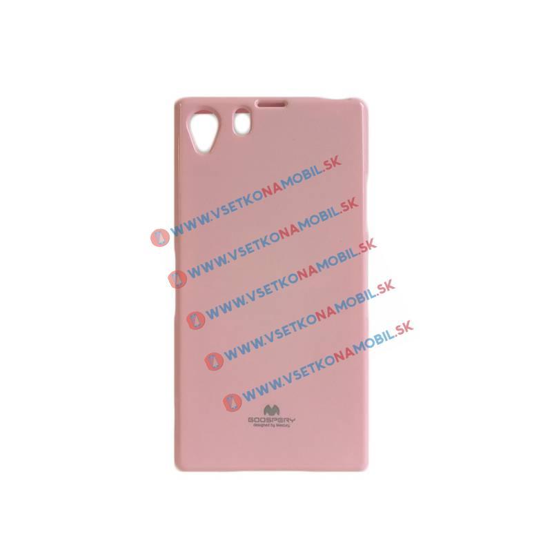 JELLY TPU Ochranný obal Sony Xperia Z1 ružový