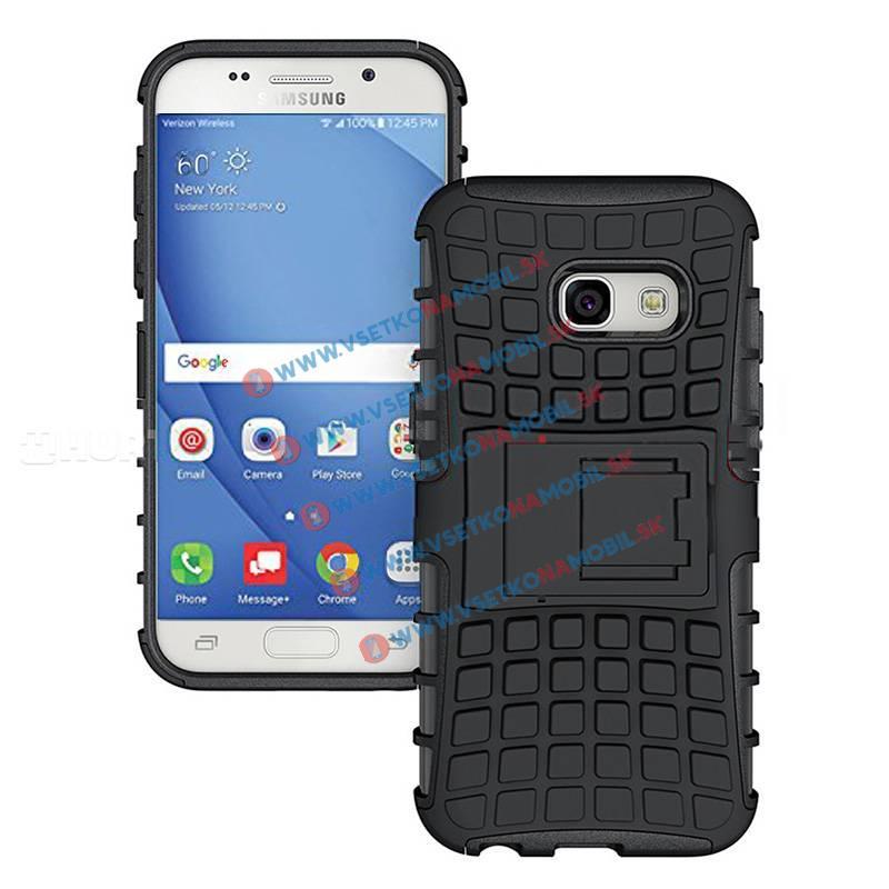 STAND Ochranný kryt Samsung Galaxy A7 2017 (A720) černý