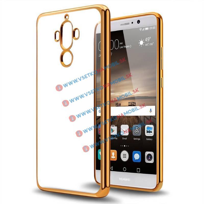 Ochranný TPU Obal Huawei Mate 9 zlatý
