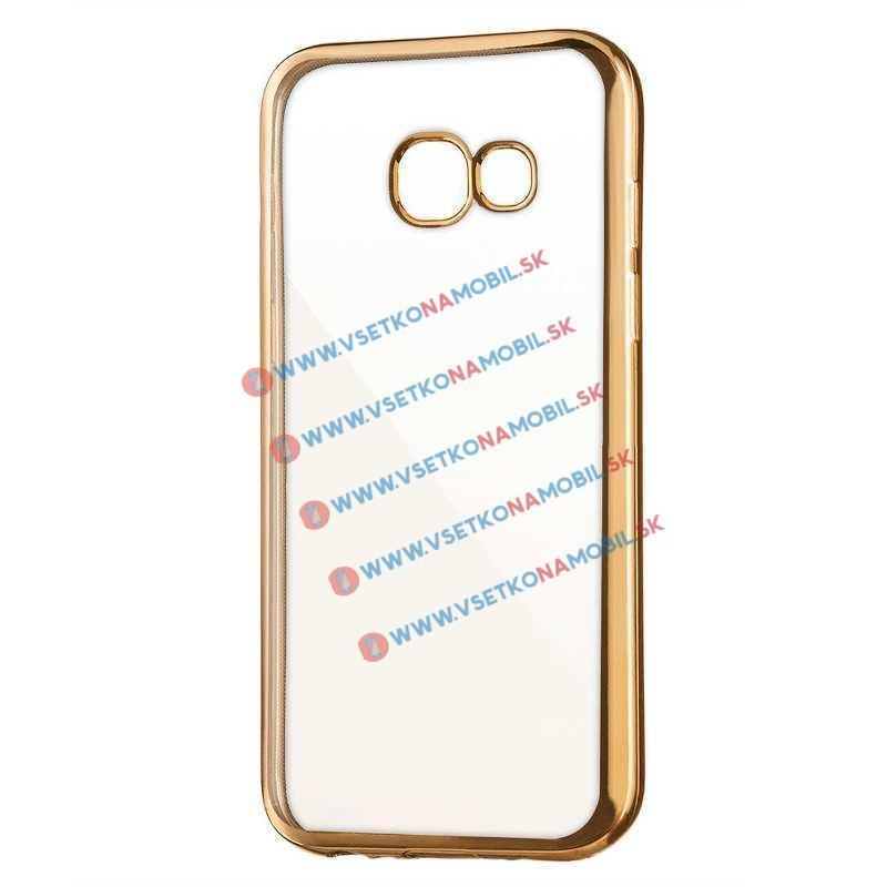 FORCELL METALLIC TPU Obal Samsung Galaxy A3 2017 (A320) zlatý