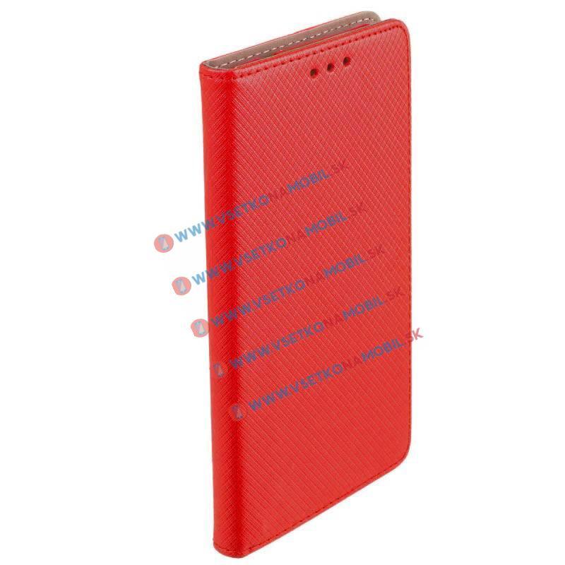 MAGNET Peňaženkový obal Lenovo Vibe C2 červený