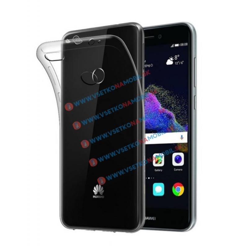 FORCELL Silikonový obal Huawei P8 Lite 2017 / P9 Lite 2017 průhledný