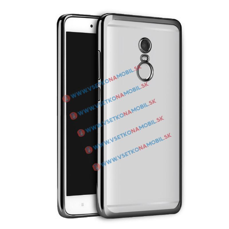 FORCELL METALLIC TPU Obal Xiaomi Redmi Note 4 černý