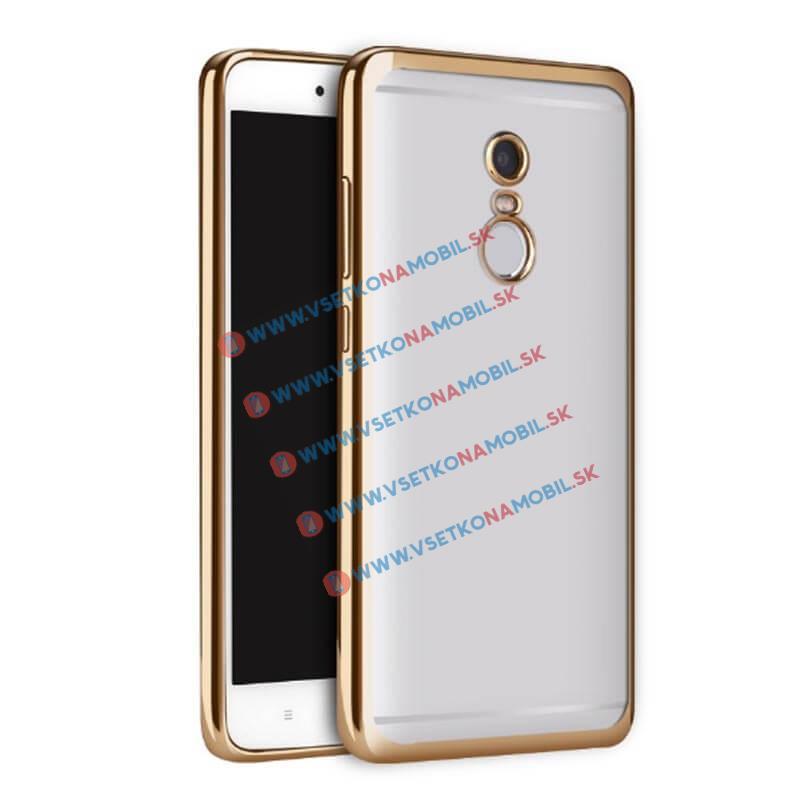 FORCELL METALLIC TPU Obal Xiaomi Redmi Note 4 zlatý