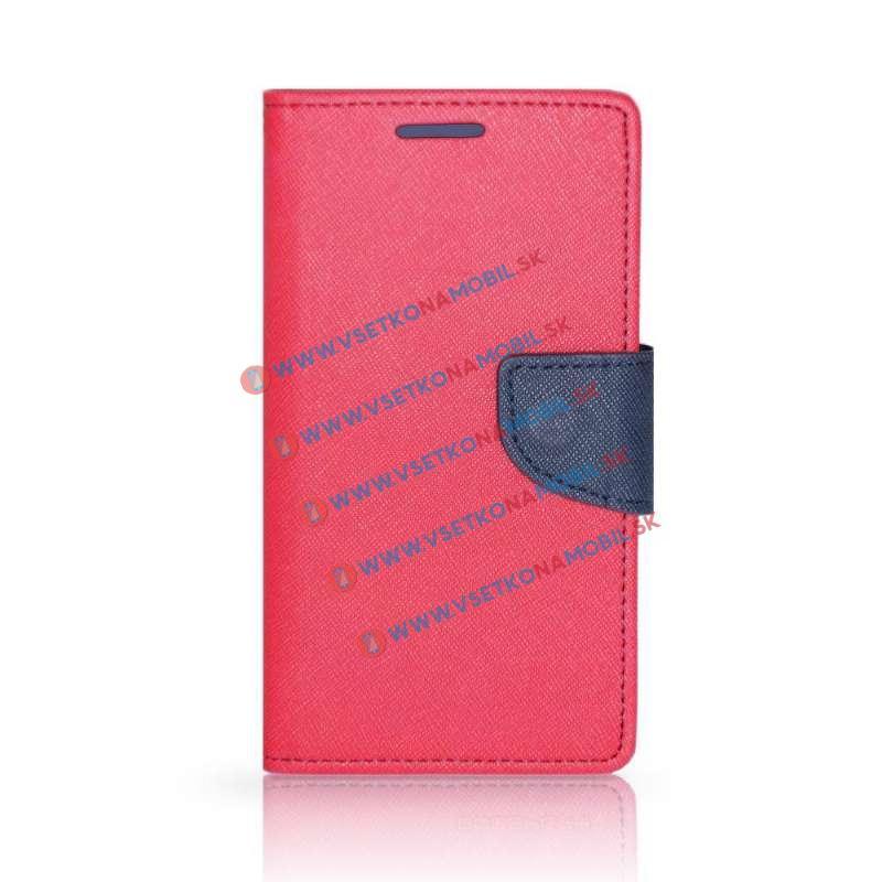 FANCY Peňaženkový obal Huawei Honor 7 Lite / 5C ružový