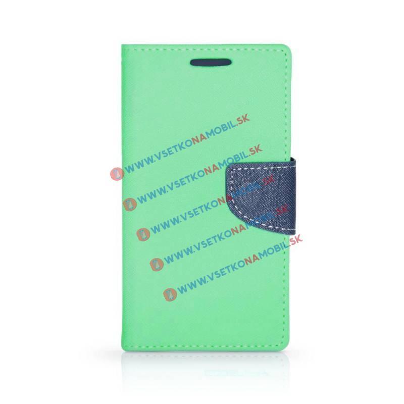 FANCY Peňaženkový obal Huawei Honor 7 Lite / 5C mentolový