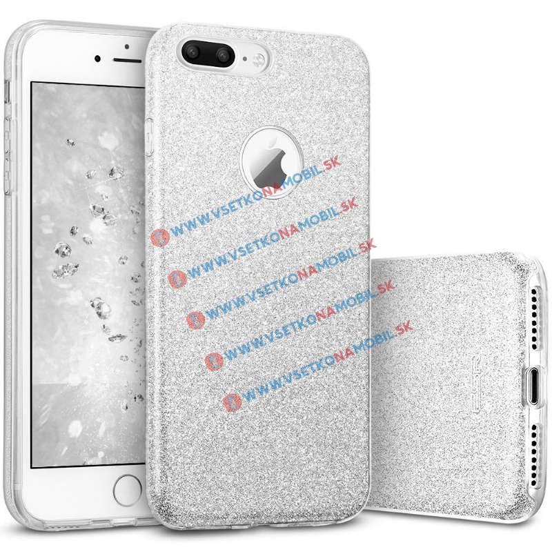 REMAX GLITTER TPU Obal Apple iPhone 7 Plus strieborný 361318d6216