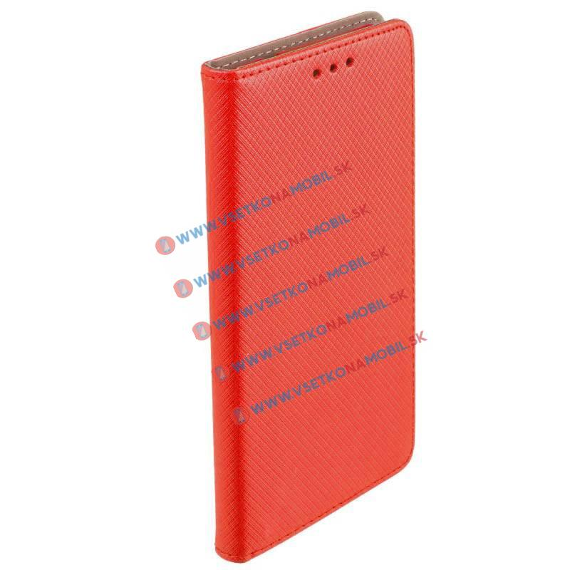MAGNET Peňaženkový obal LG G6 červený