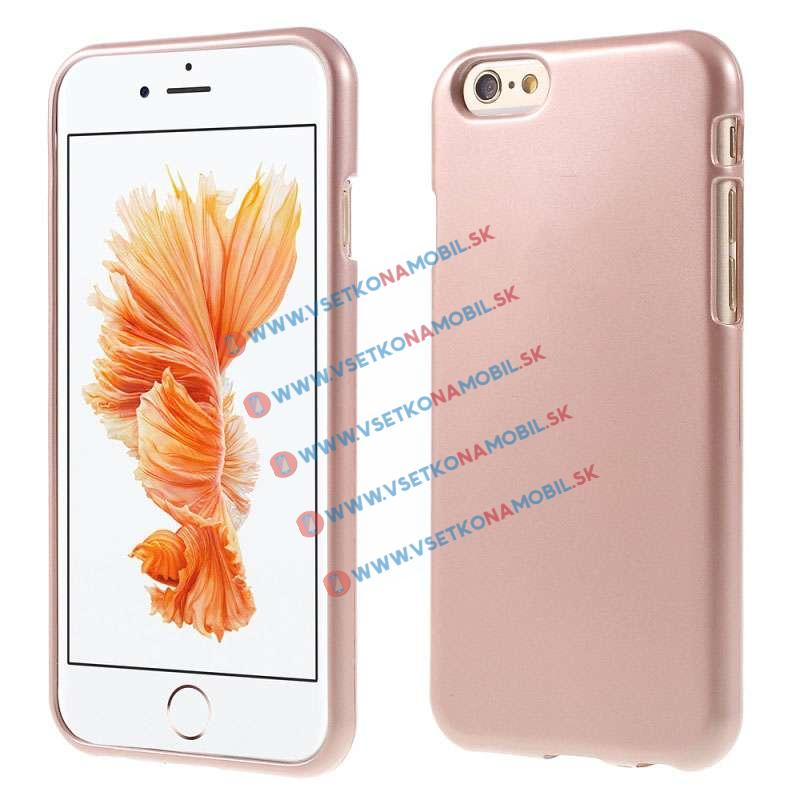 FORCELL Ochranný silikónový obal Apple iPhone 6 / 6S zlatý