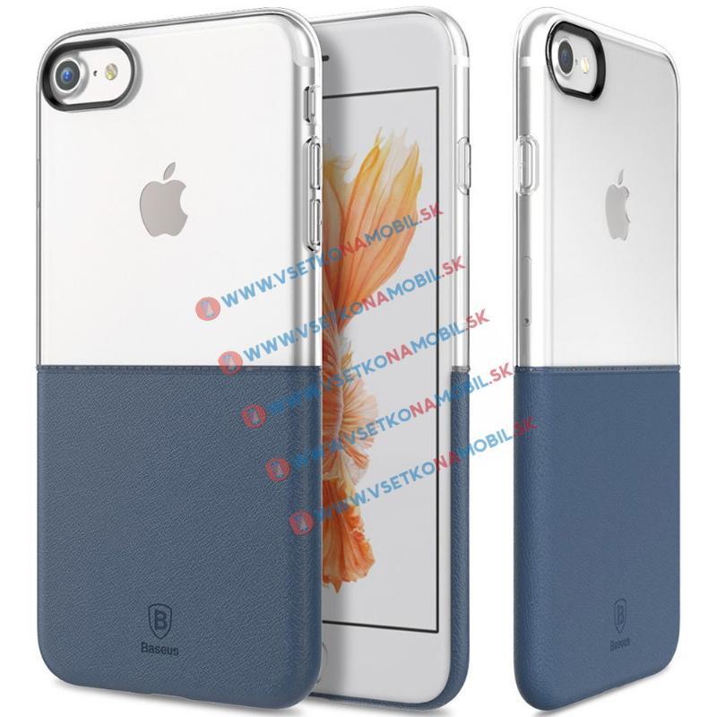 BASEUS HALF Ochranný obal Apple iPhone 7 / iPhone 8 modrý