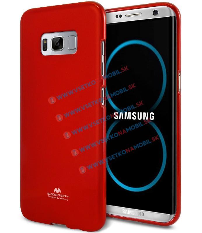 MERCURY JELLY Obal Samsung Galaxy S8 červený